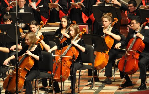 Masterworks showcases combined music groups