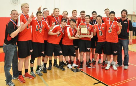 Boys Volleyball dominates State championship game against Affton