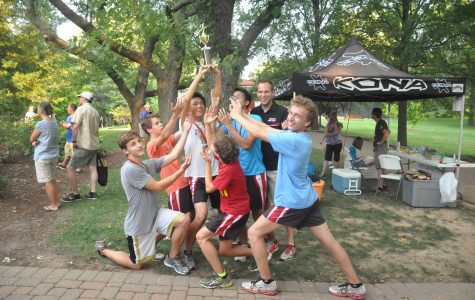 Boys cross country places second at warm-up meet