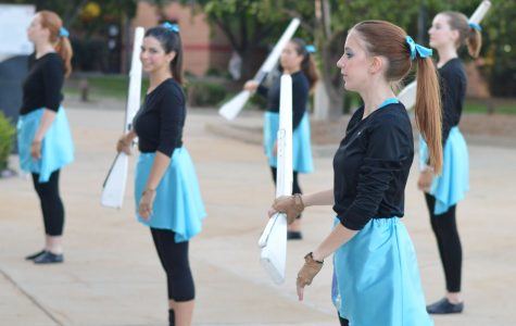 Band aided by color guard improvement