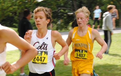 Junior ties school record in cross country