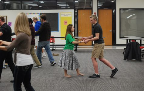 Ballroom dance club takes first steps