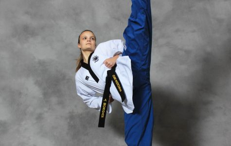Black belt Amy Morgan works toward spot on  national taekwondo team