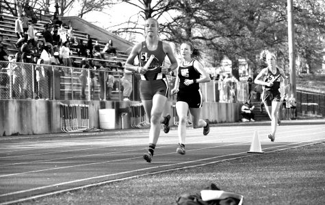 Senior Girls make strides in track