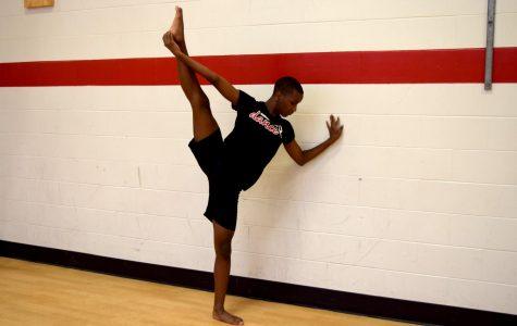 Dude on Dance Team