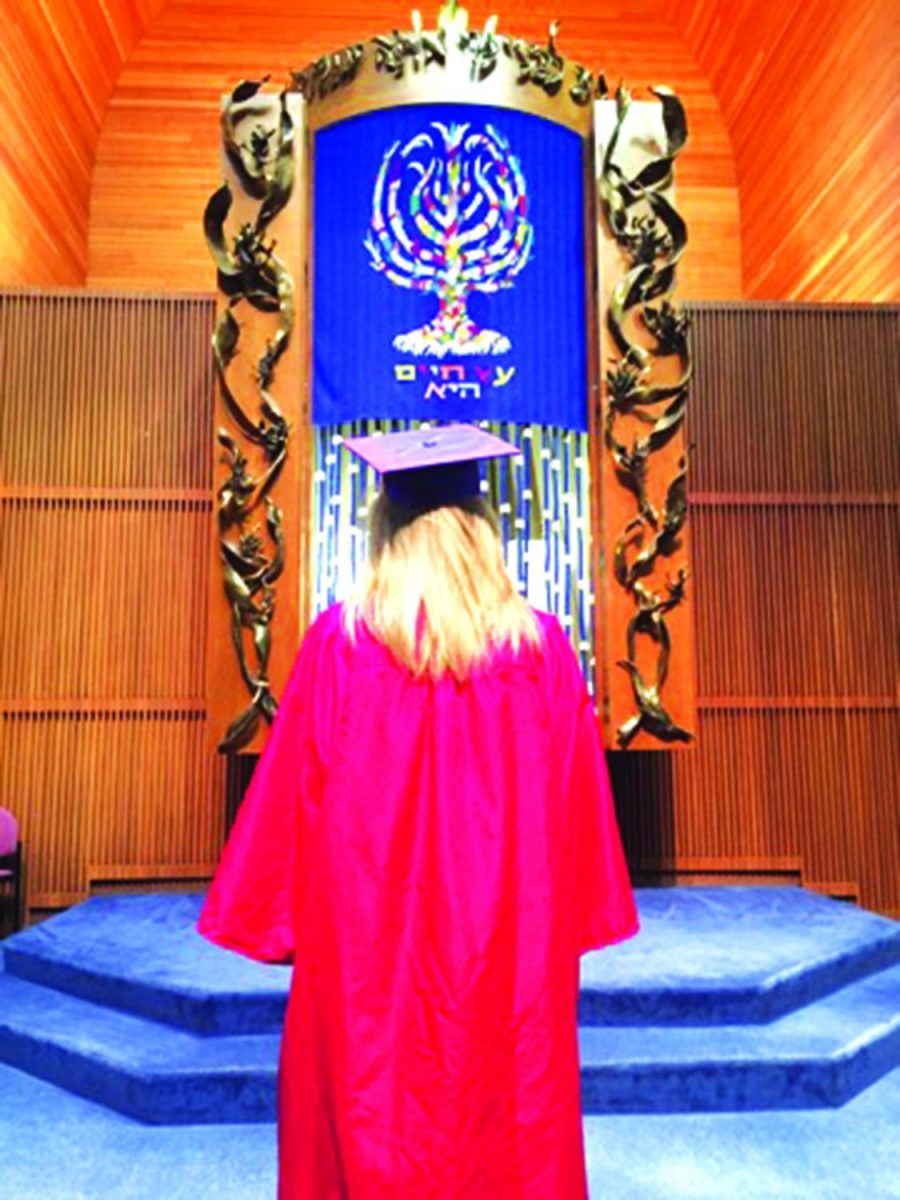 Senior+Hannah+Maurer+stands+up+for+herself+and+other+members+of+the+Jewish+community+after+Parkway+schedules+full+district+graduation+on+a+Jewish+holiday.