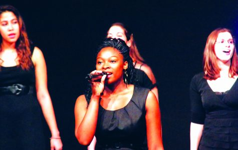 Akins shines with singing talent