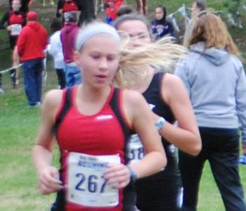 Freshman shows promise on cross country team