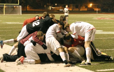 Varsity soccer wins sectionals over Ladue