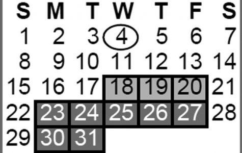 New academic calendar creates scheduling concerns