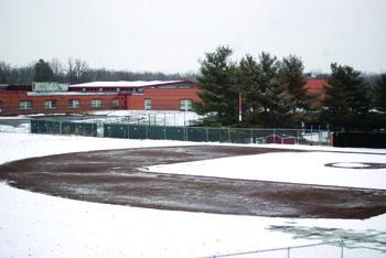 Winter storm postpones spring games