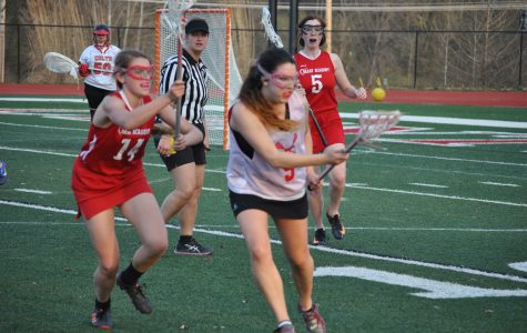 Varsity lacrosse loses to Barat Academy