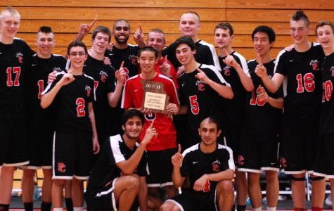 Boys volleyball wins District title