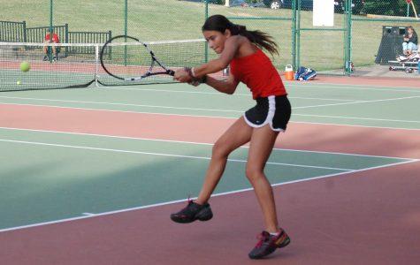 Freshmen compete in state tennis tournament