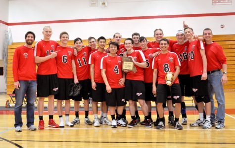 Volleyball takes District 2 title