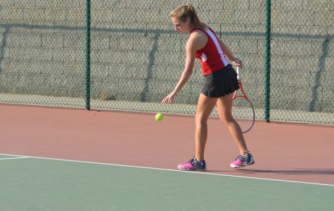 Girls tennis team misses out on State