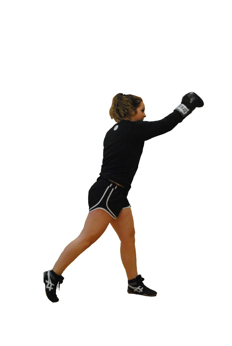 Fight like a girl: Sophomore boxes for exercise, finds passion in the ring