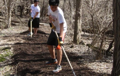Eagle Scout finishes project