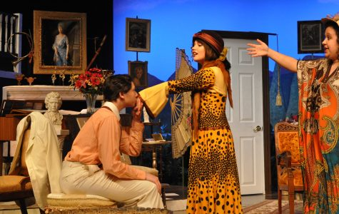 School 'Hay Fever' play cast impresses  with Comedy, shines with Characterization