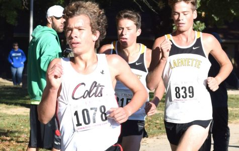 Cross country runner breaks record