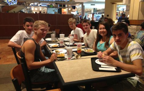 Exchange Students Embrace Time With Host Family