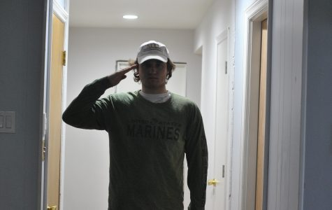Early Graduate: Reinhold enlists in Marine Corps