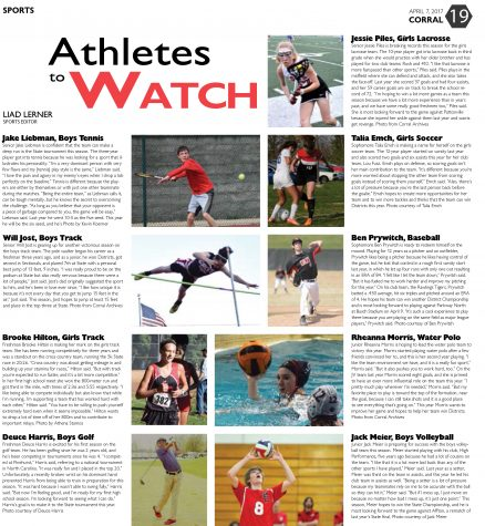Athletes To Watch: Fall Sports