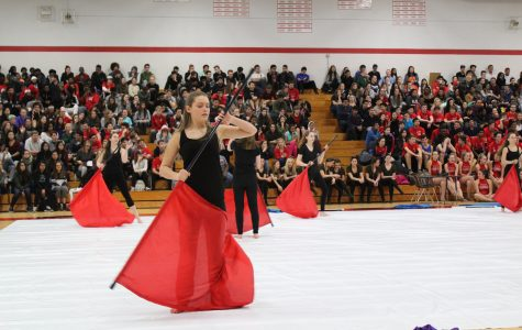Winter guard returns for another season