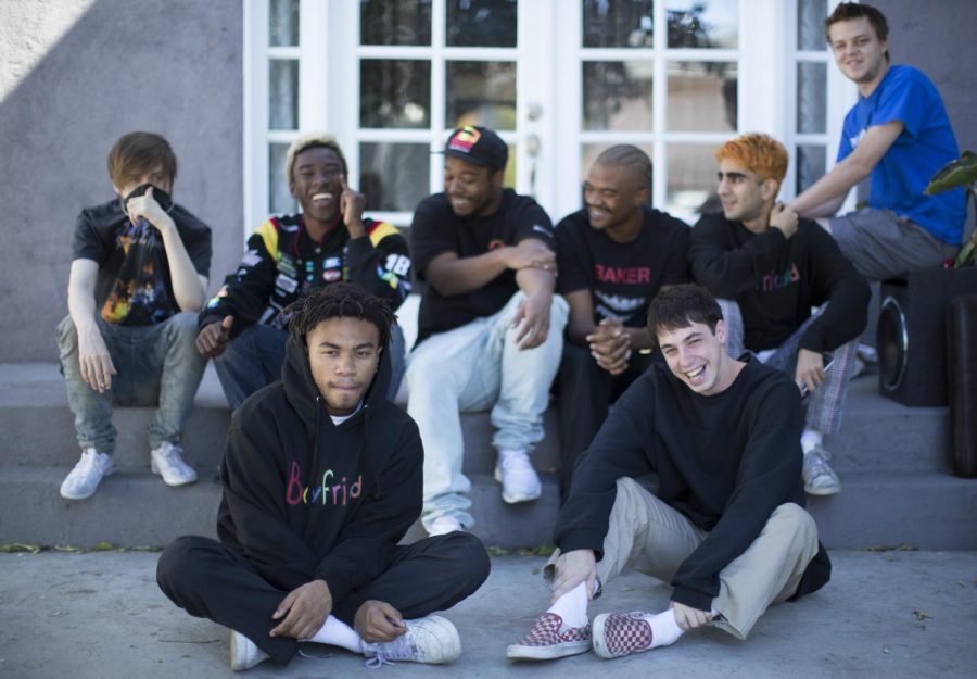 From+their+Internet+roots%2C+Brockhampton+is+emerging+into+the+real+world+in+a+big+way+with+their+recently+released+album+%22Saturation+II%2C%22+a+Viceland+docmentary-style+show+%22American+Boyband%2C%22A+A+and+nationwide+tour+--+all+based+out+of+their+group+home+in+Los+Angeles%27+North+Hollywood+neighborhood.+%28Myung+J.+Chun%2FLos+Angeles+Times%2FTNS%29
