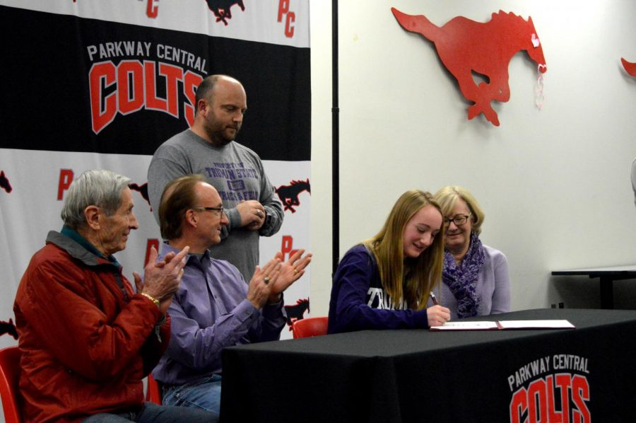 Committed College Athletes: Marissa Brady