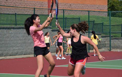 Cheers to the Jv tennis season