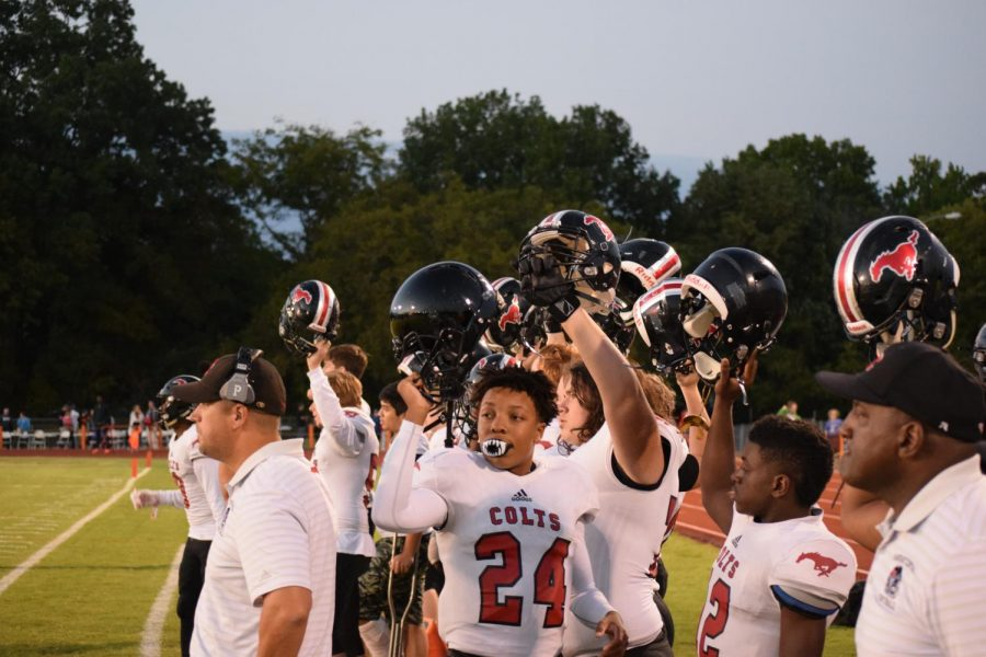 Colts Win 36-2 over Webster Groves