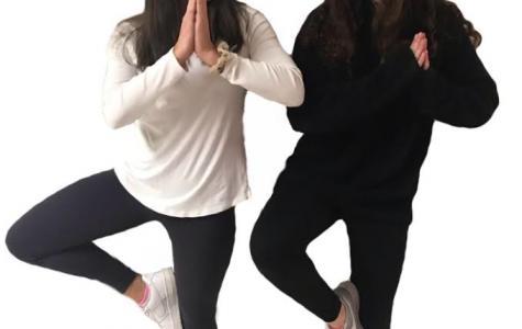 Yoga, a new take on PE class