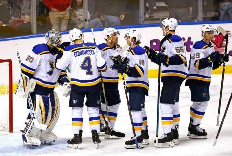 BLUES STREAK TOWARDS PLAYOFFS