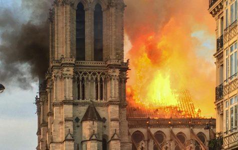 Notre Dame Set Ablaze