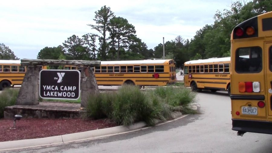 This sign brought the kids so much happiness after a long and very loud bus ride. Photo courtesy of the YMCA website.