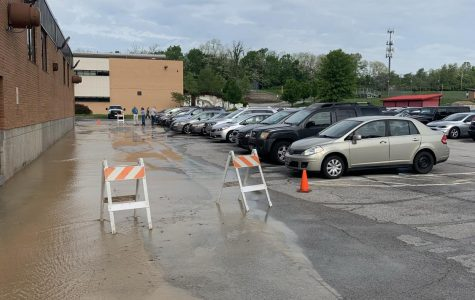 Water main break shortens school day