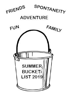 Successful Summer Bucket-List 2019