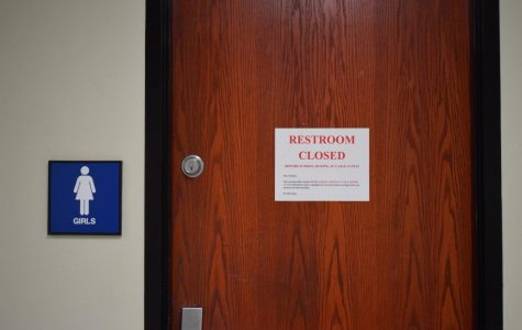 Restricted: bathrooms closed