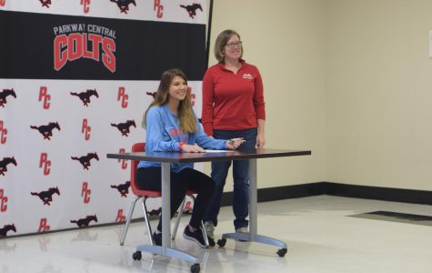 PCH Student Signs LAX Scholarship