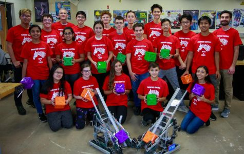 PCH Robotics Club Preparing for FIRST Competition