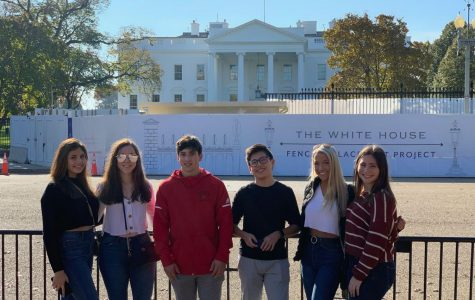 JOURNALISM STUDENTS TRAVEL TO WASHINGTON D.C.
