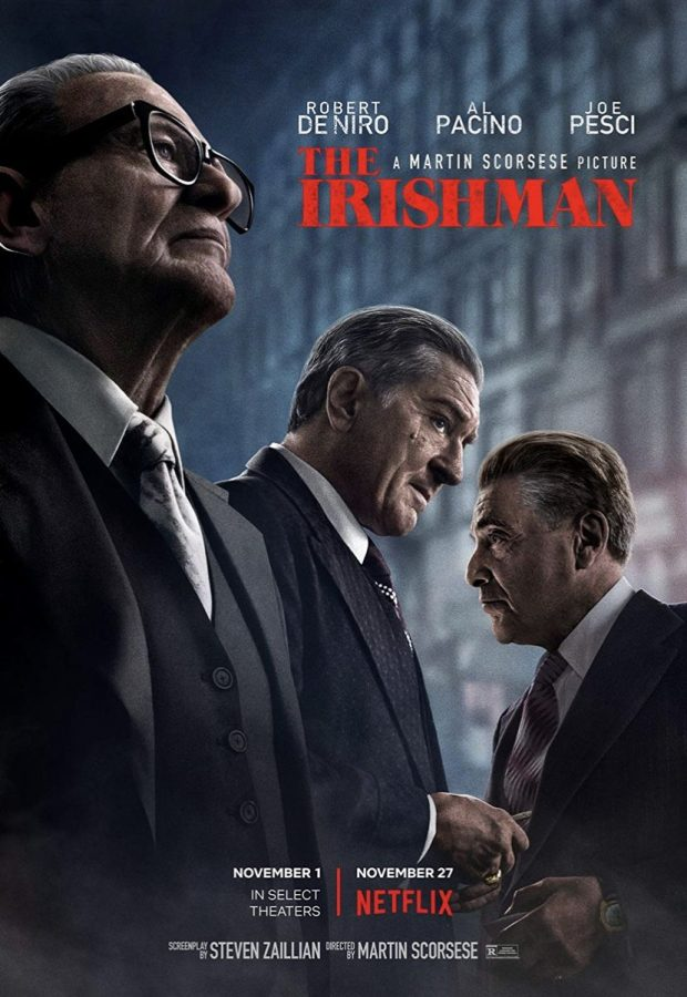 %22The+Irishman%22+stars+Robert+DeNiro%2C+Joe+Pesci%2C+and+Al+Pacino.+This+movie+is+most+famous+for+it%27s+Netflix+distribution%2C+classic+cast%2C+and+de-aging+effects.+