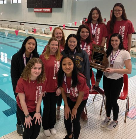 Parkway Central Girls Swim & Dive Puts On A Show At State Meet