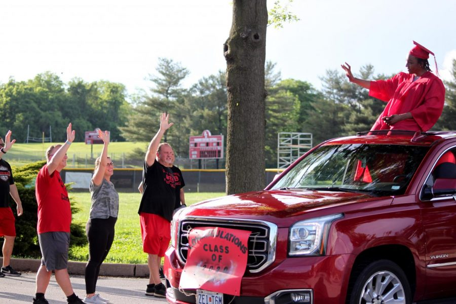 Class of 2020 Celebrates with a parade