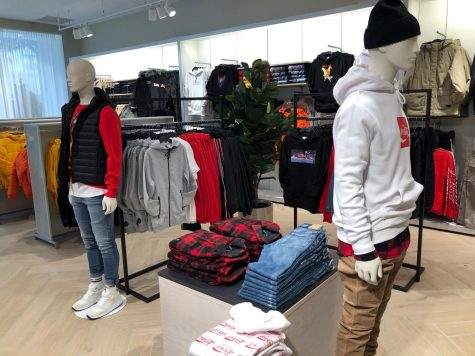 H&M opens in Downtown Detroit, located at 1505 Woodward Ave., on Thursday, November 21, 2019