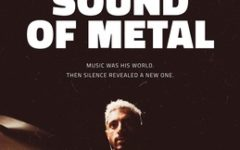 Sound of Metal, directed by Darius Marder, stars Riz Ahmed as Ruben, a heavy metal drummer that begins to lose their hearing. The film follows Ruben as he copes with this disruptive change.